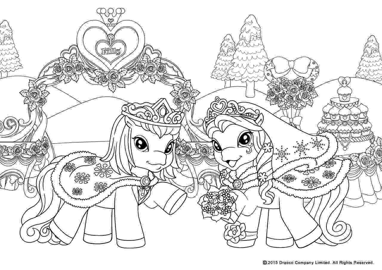 filly coloring pages my filly world pony toys coloring pages winterwedd by filly coloring pages