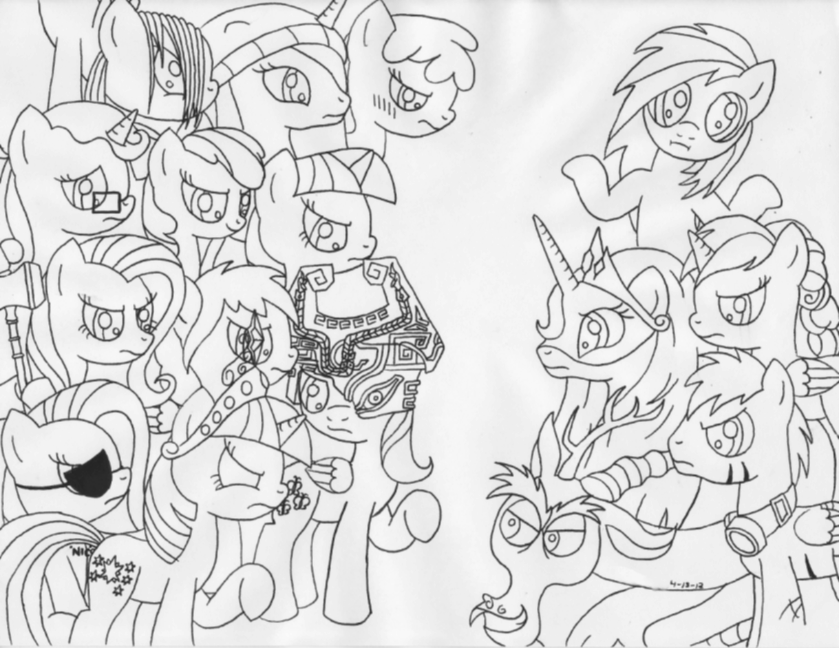 filly coloring pages surprising my little pony cutie mark crusaders coloring pages filly coloring