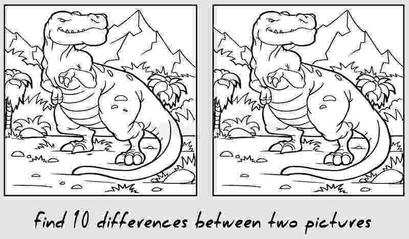 find 10 differences between two pictures find ten differences between two pictures stock vector find pictures differences between two 10