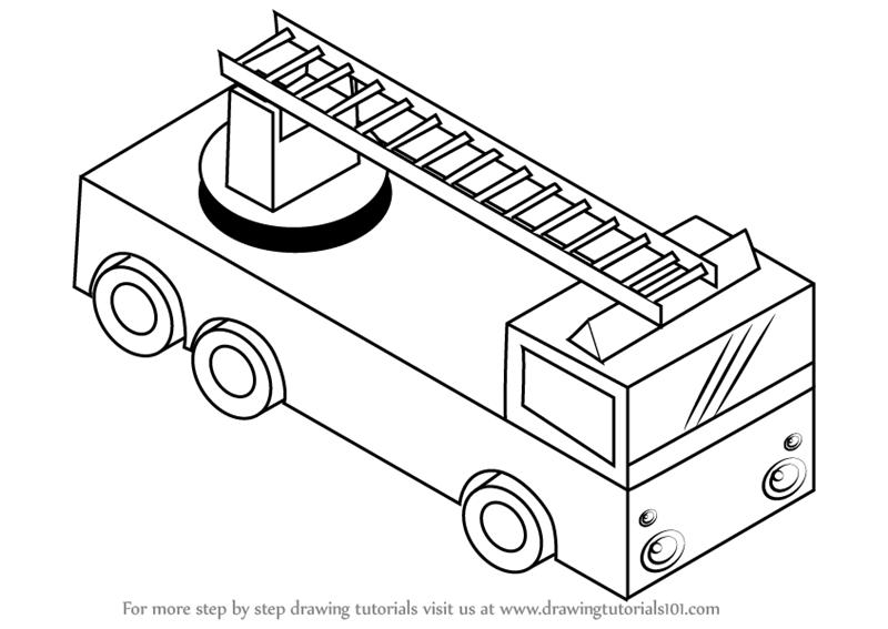 fire engine sketch alan wayne myers fire truck line art sketch fire engine