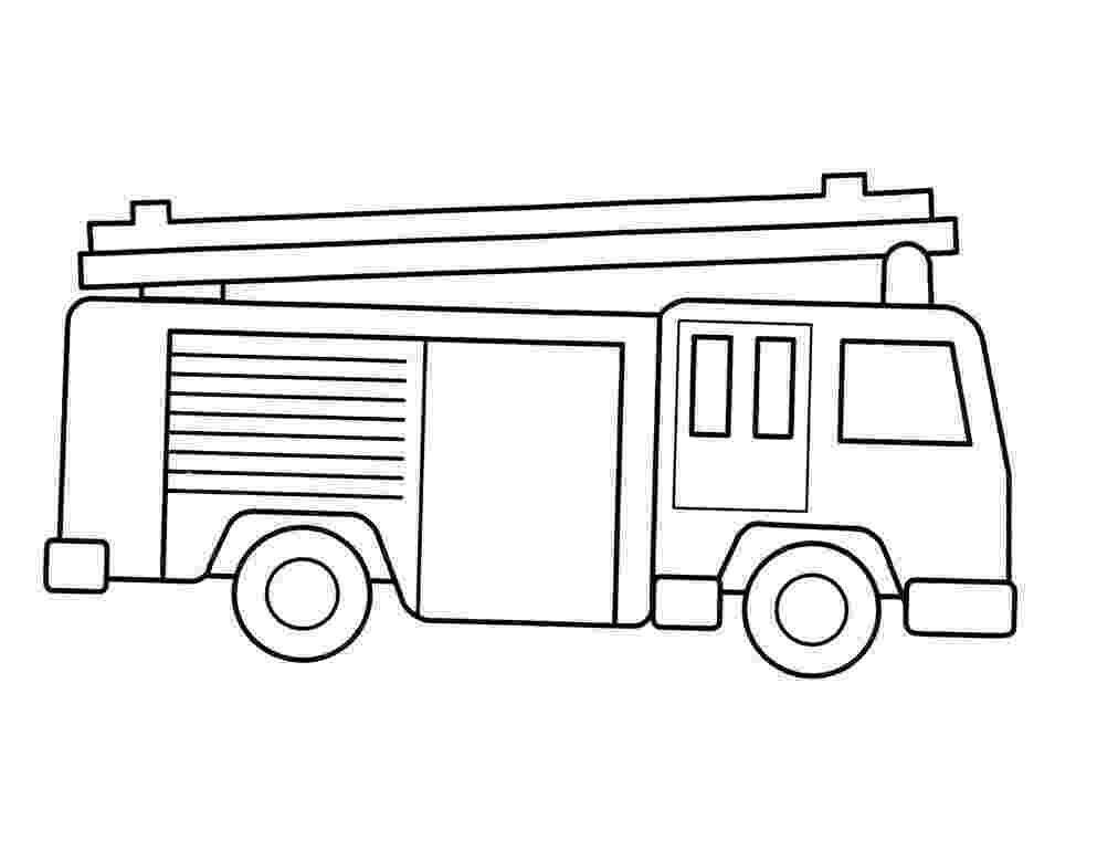 fire engine sketch fire truck coloring page free printable coloring pages sketch engine fire