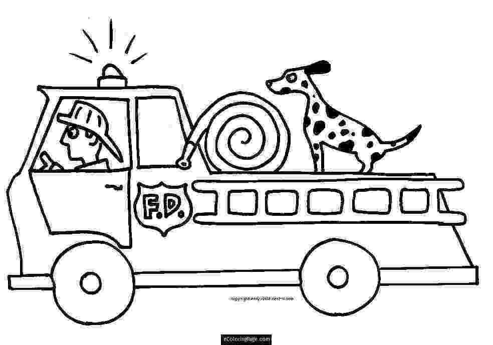 fire engine sketch fire truck with ladder coloring page free printable fire sketch engine