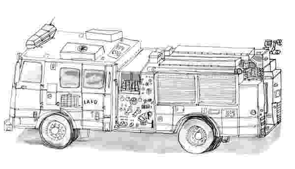 fire engine sketch free printable fire truck coloring pages for kids truck engine sketch fire