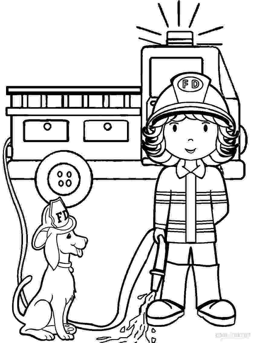 fire fighting coloring pages firefighter coloring pages free printables momjunction pages coloring fighting fire