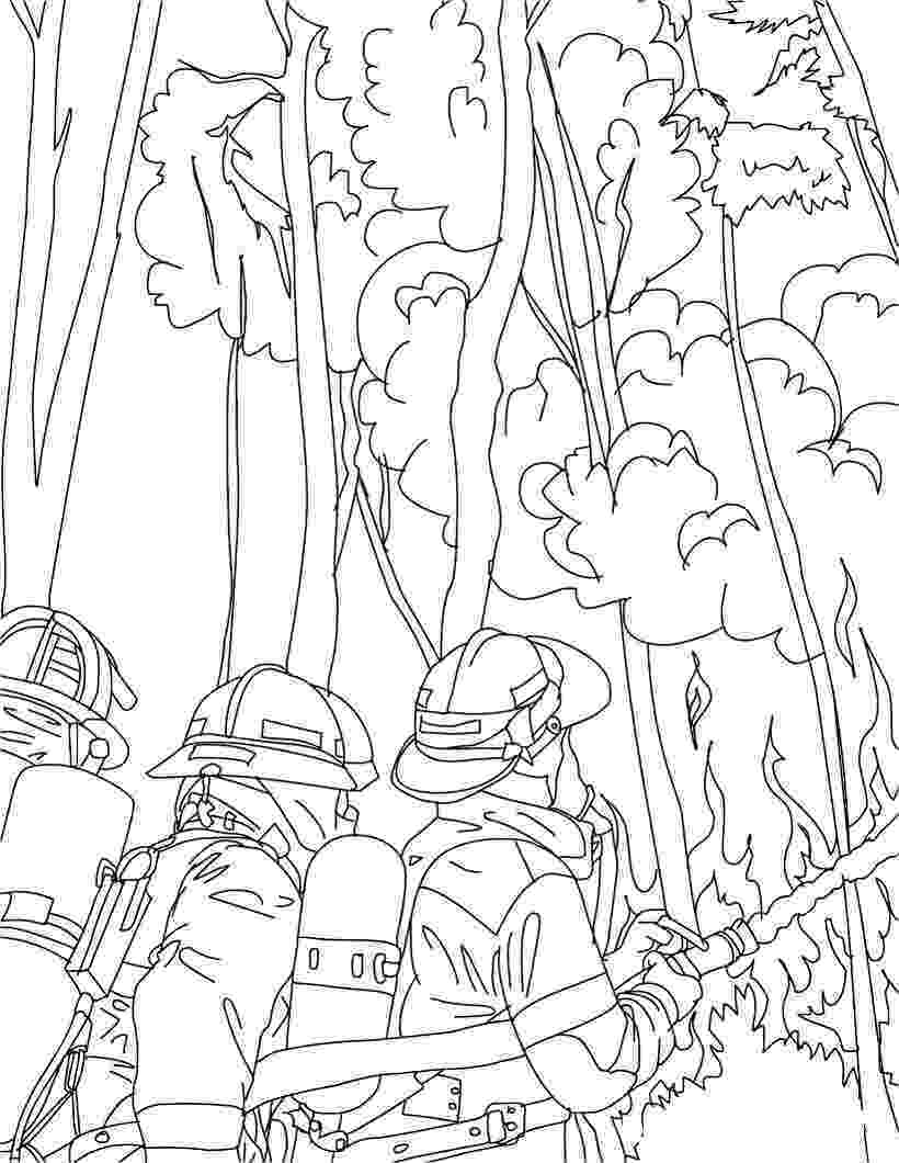 fire fighting coloring pages free printable firefighter coloring pages for kids coloring fire pages fighting