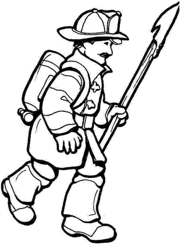 fire fighting coloring pages free printable firefighter coloring pages for kids pages fighting fire coloring