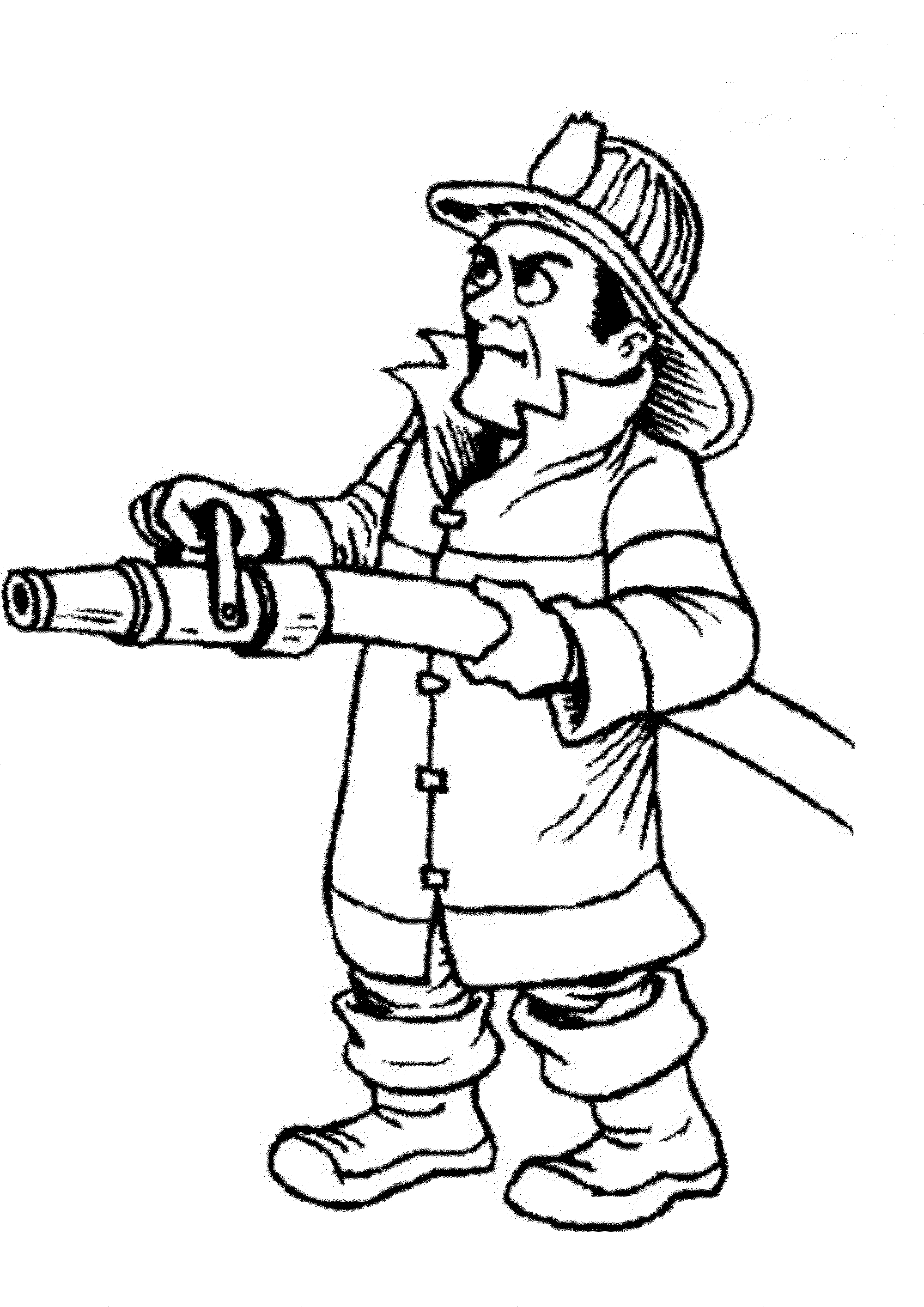 fireman coloring page firefighter coloring pages to download and print for free fireman page coloring