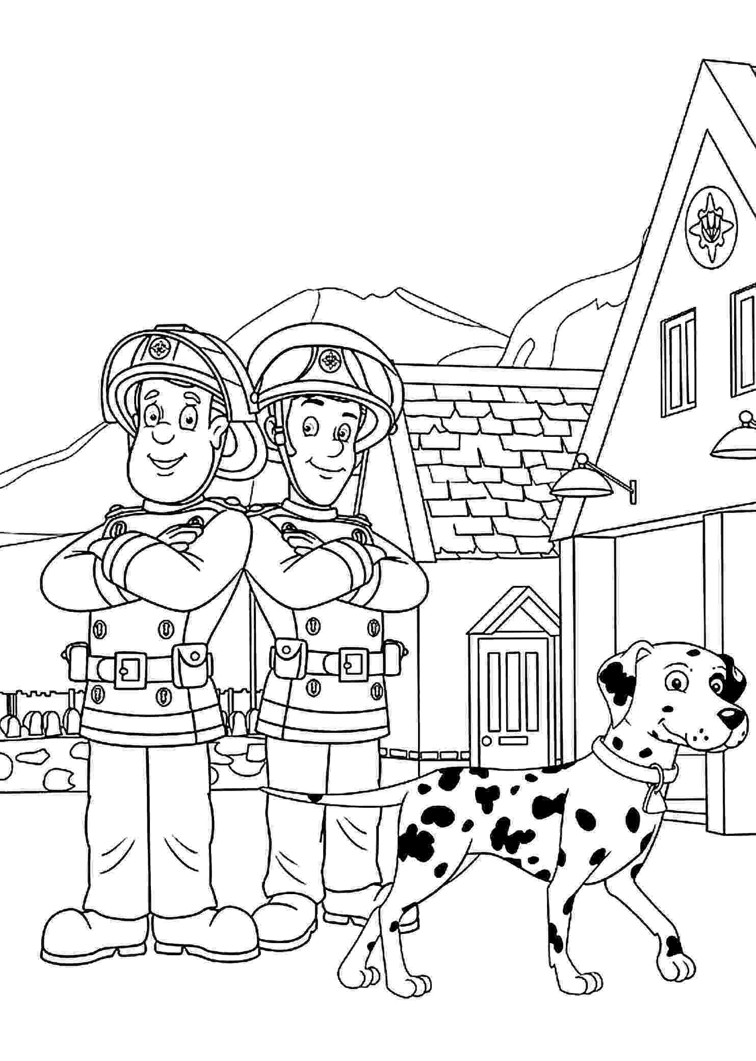 fireman coloring page firefighters coloring pages fireman page coloring