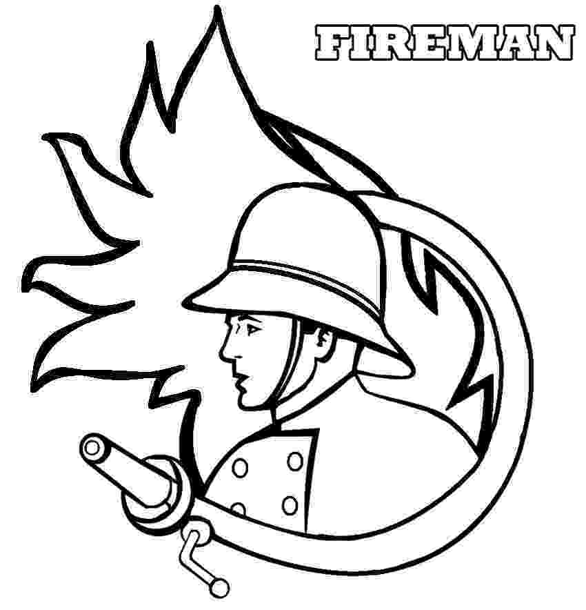 fireman coloring page fireman coloring page for children to print or download sheet page fireman coloring