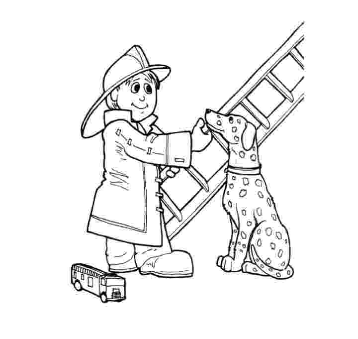 fireman coloring page print download educational fire truck coloring pages fireman coloring page