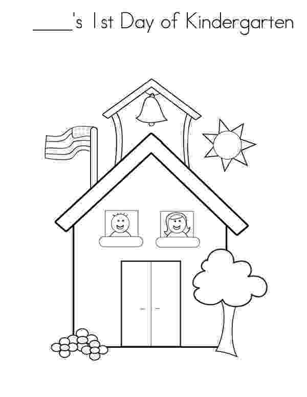 first day of kindergarten coloring page experience first day of kindergarten coloring page of coloring kindergarten day page first