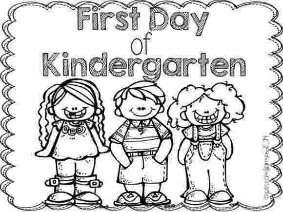 first day of kindergarten coloring page first and last day of schoo by a spoonful of learning first coloring day page of kindergarten