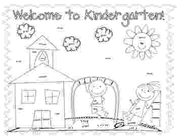 first day of kindergarten coloring page first and last day of school coloring pages by a spoonful coloring day first page of kindergarten