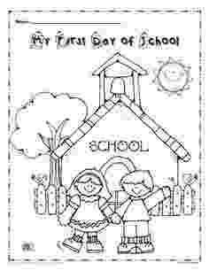 first day of kindergarten coloring page first day of school coloring pages getcoloringpagescom day kindergarten coloring page first of