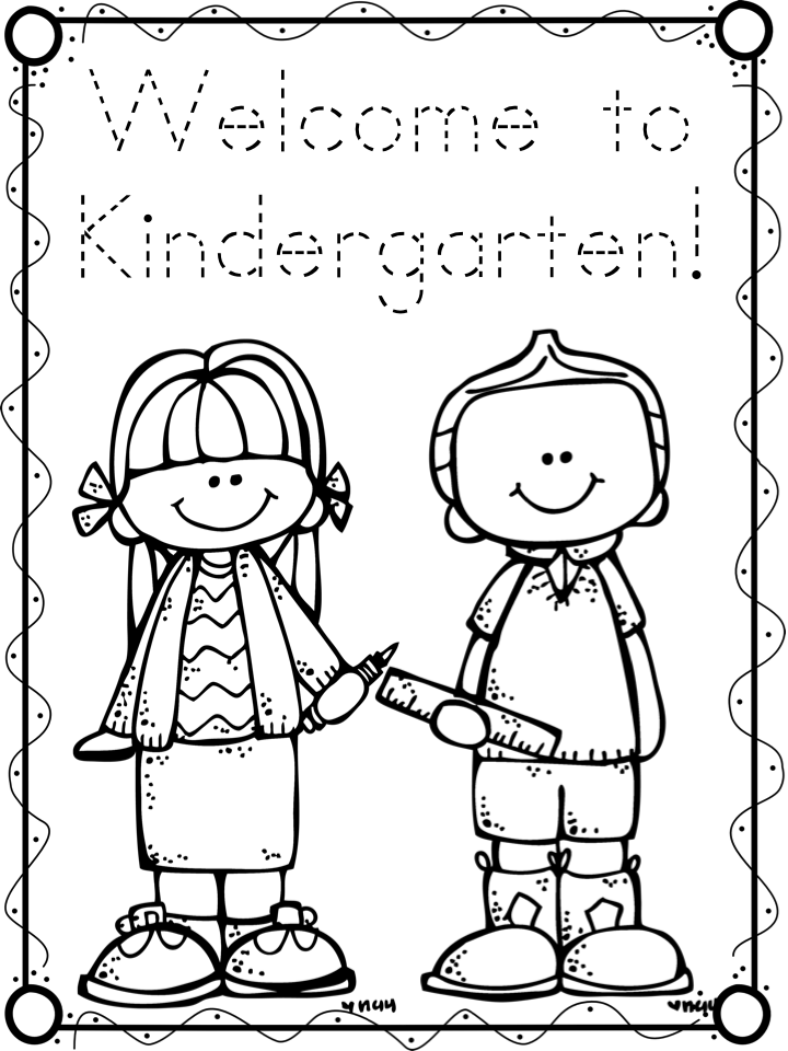 first day of kindergarten coloring page welcome to room 36 pirates and first day of school page day of first coloring kindergarten