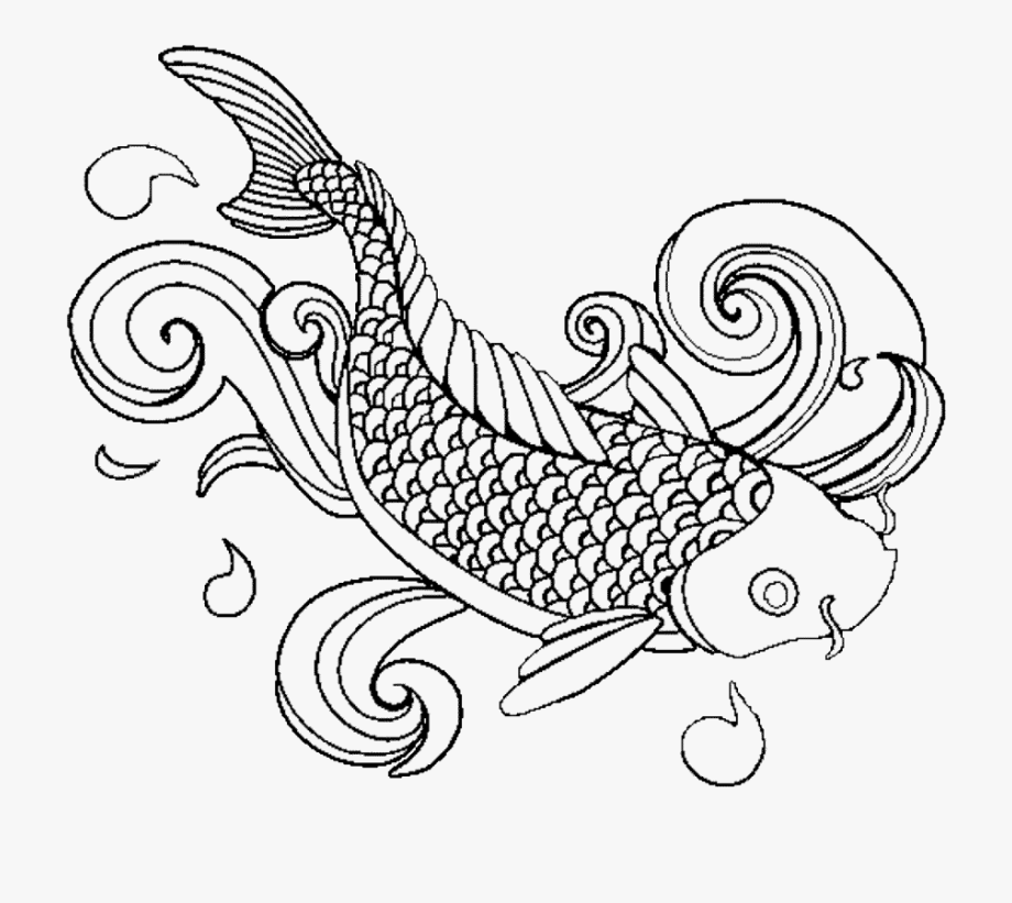fish coloring pages for adults adult coloring pages carp koi fish zentangle doodle coloring adults pages fish coloring for