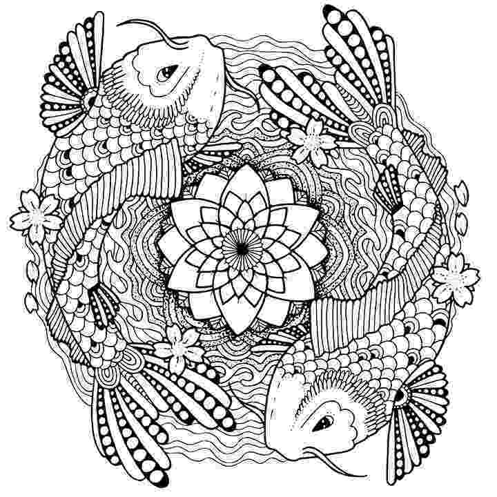 fish coloring pages for adults betta fish hand drawn coloring page stock vector fish coloring for pages adults