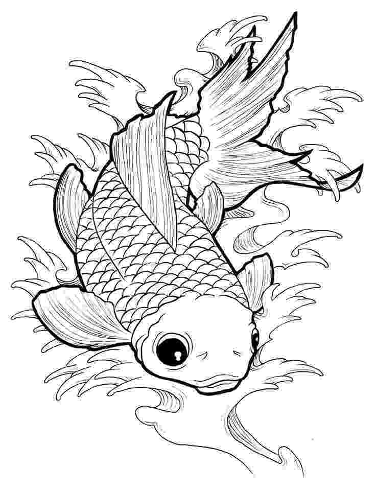 fish coloring pages for adults complex fish carp animals coloring pages for adults coloring for pages adults fish