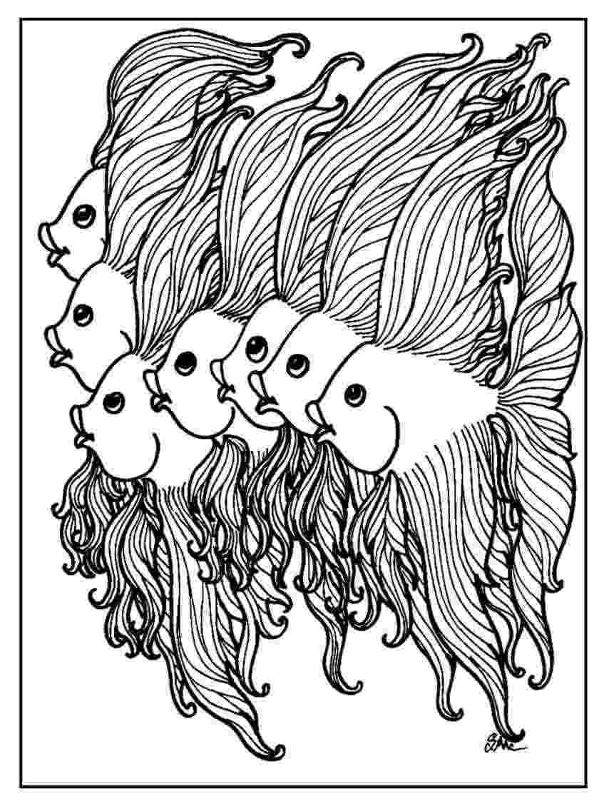 fish coloring pages for adults fish zentangle colouring page ocean coloring pages fish pages coloring for adults