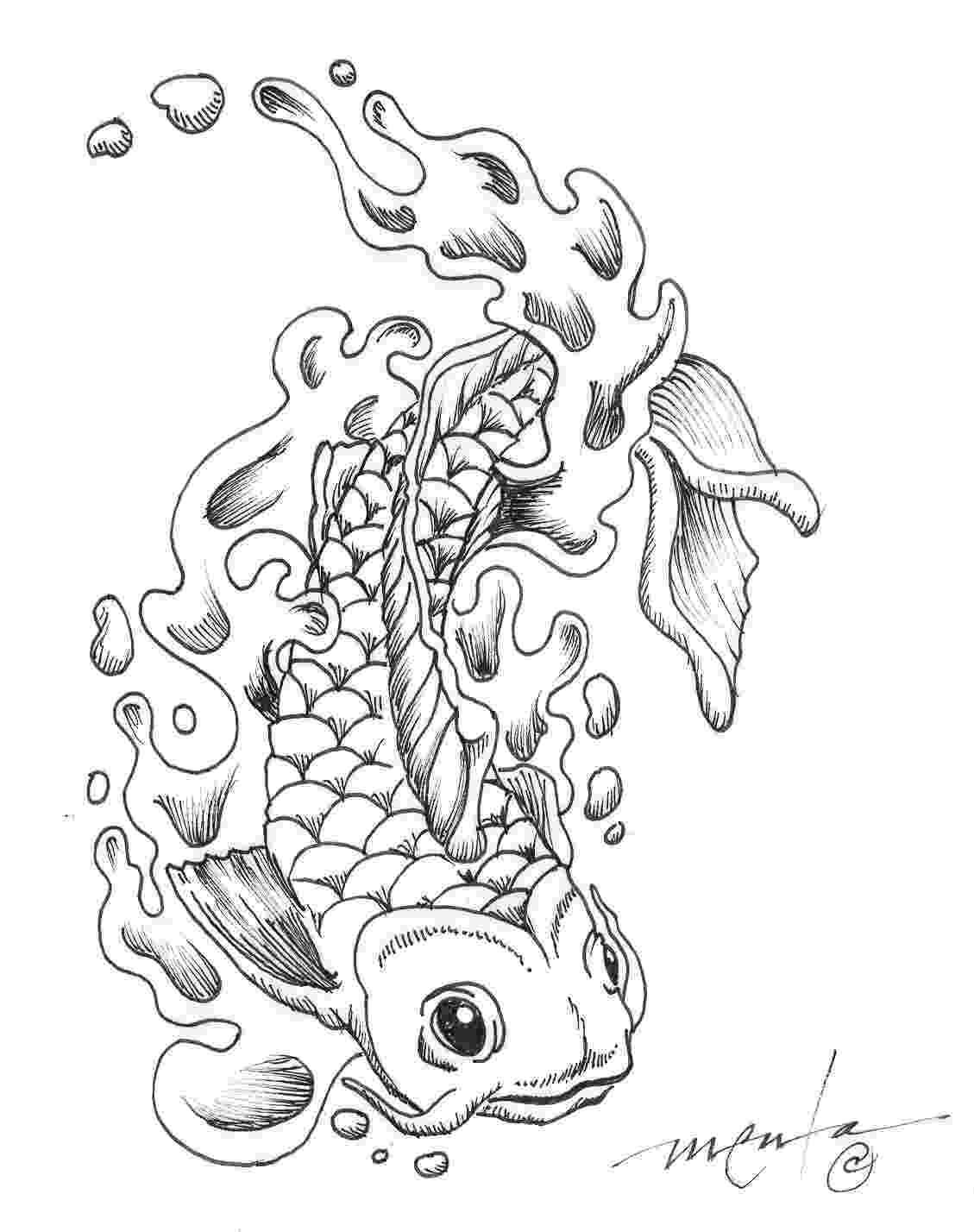 fish coloring pages for adults large size of printable fish coloring pages pages adults coloring for fish