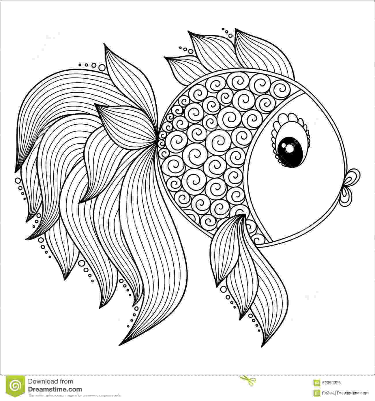 fish coloring pages for adults marine fish coloring pages kleurplaat kleurplaat coloring pages adults fish for