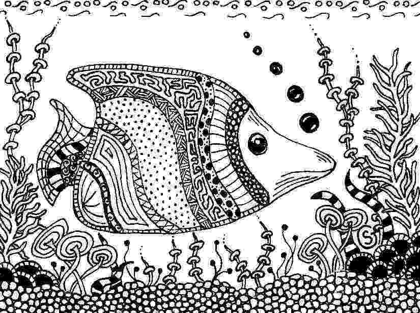 fish coloring pages for adults natchitoches national fish hatchery pages coloring adults for fish