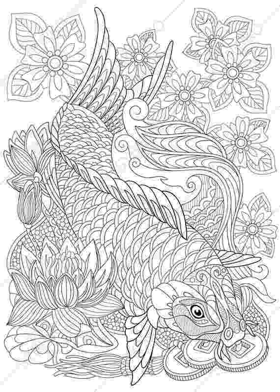 fish coloring pages for adults pin on coloring pages fish for adults coloring