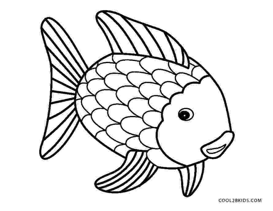 fish coloring pages to print rainbow fish template coloring home to pages fish coloring print