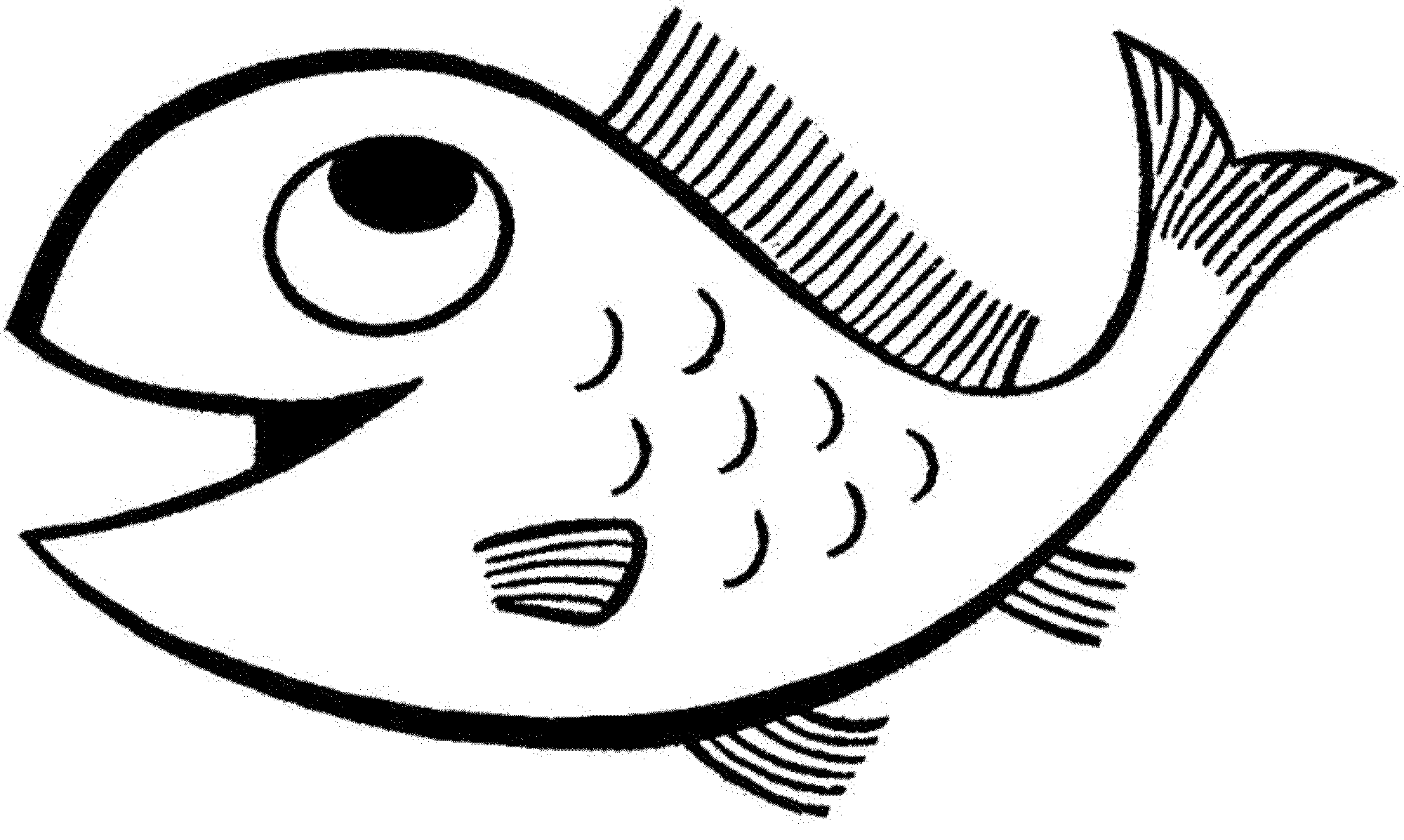 fish picture to color free fish coloring pages for kids color fish to picture