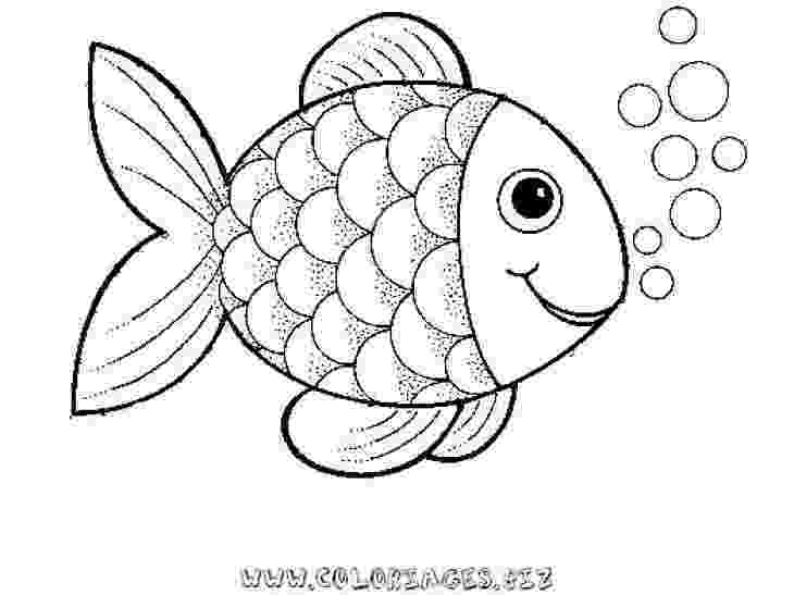 fish picture to color preschool rainbow fish coloring sheet to print for free picture to color fish