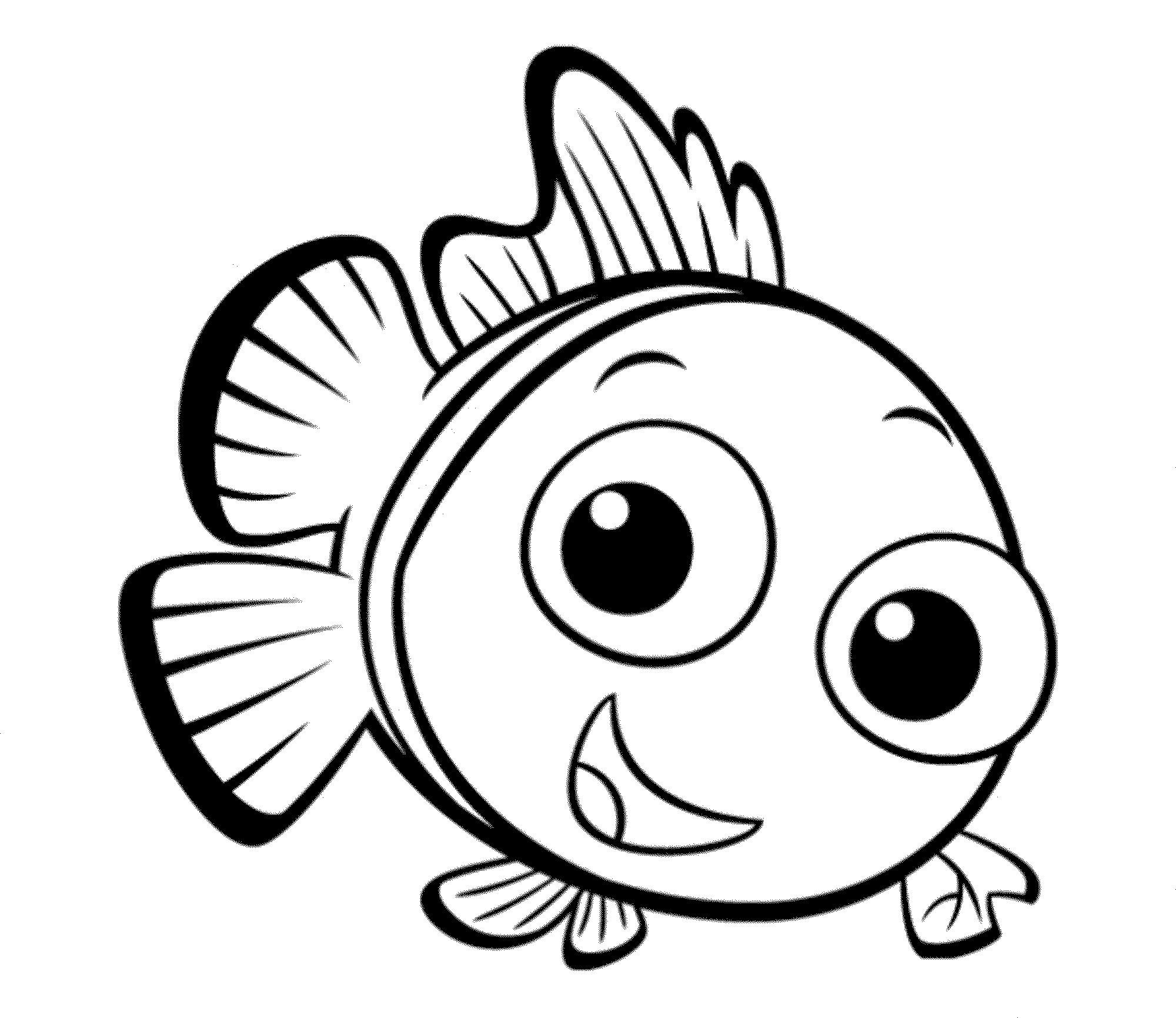 fish picture to color print download cute and educative fish coloring pages fish color picture to