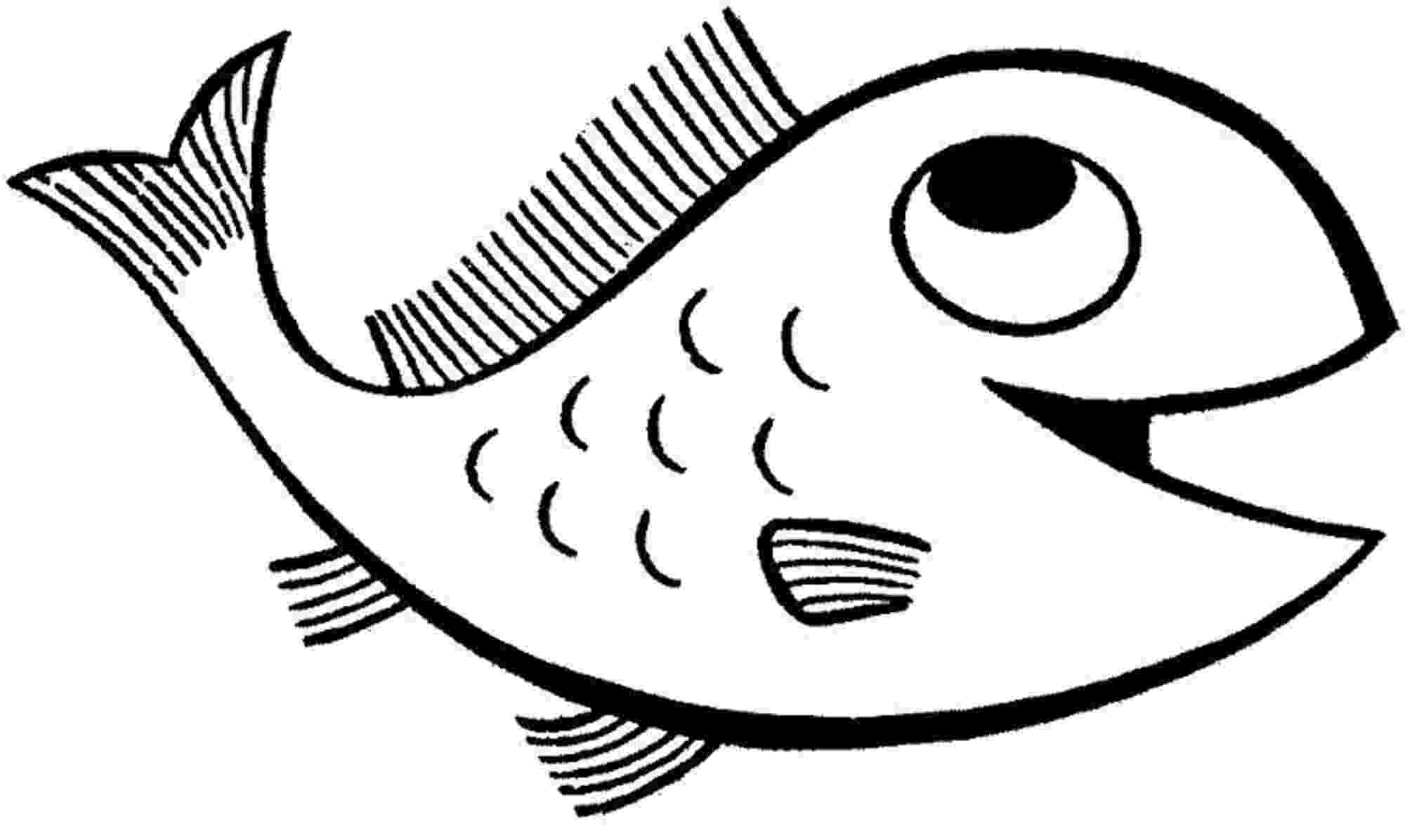 fish picture to color print download cute and educative fish coloring pages to fish picture color