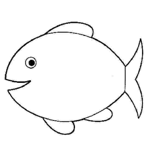 fish picture to color simple fish coloring pages getcoloringpagescom picture to color fish