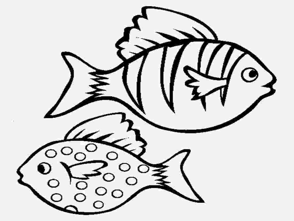 fishes coloring pages colour drawing free wallpaper march 2014 pages fishes coloring