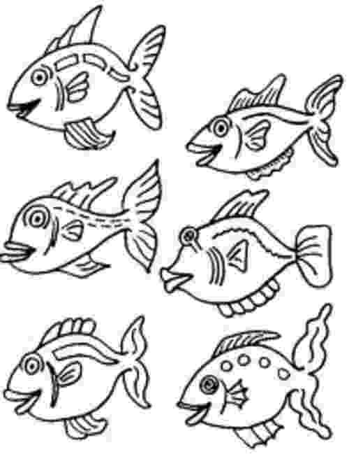 fishes coloring pages small fish coloring pages for kids gtgt disney coloring pages pages coloring fishes