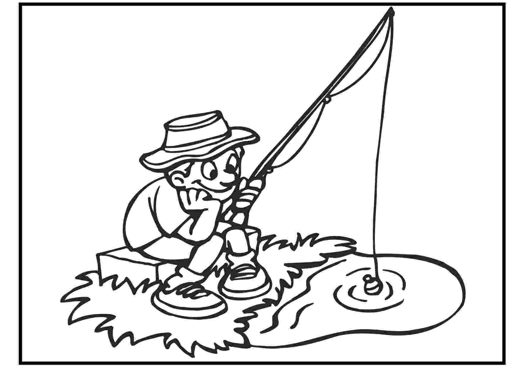 fishing coloring pages printable free printable fish coloring pages for kids tiger cub coloring fishing printable pages