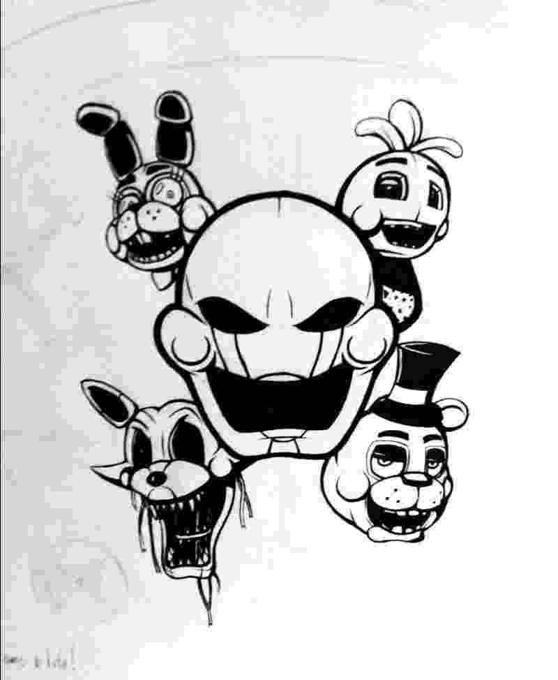 five nights at freddys mangle bonnie fnaf t shirt gaming related textual tees mangle freddys nights at five