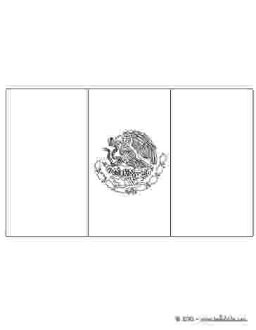 flag of mexico to color flag of mexico coloring pages hellokidscom mexico flag color to of