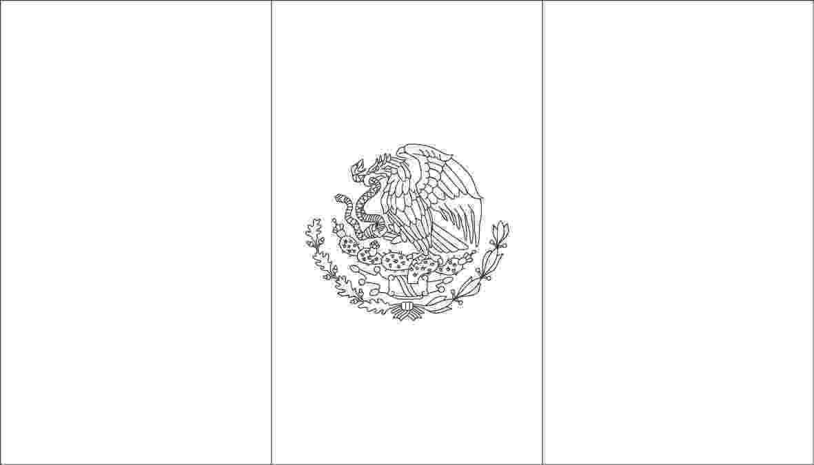 flag of mexico to color mexican flag coloring page sketch coloring page flag color mexico to of