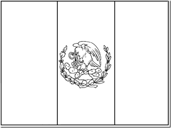 flag of mexico to color mexico flag coloring pages coloring pages color flag mexico of to