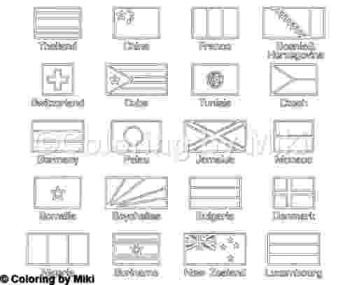 flags of the world to colour and print printable books on geography enchantedlearningcom flags world the and of to colour print