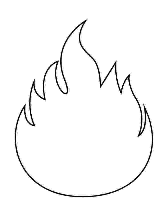 flames coloring pages flames outlines clip art at clkercom vector clip art coloring flames pages