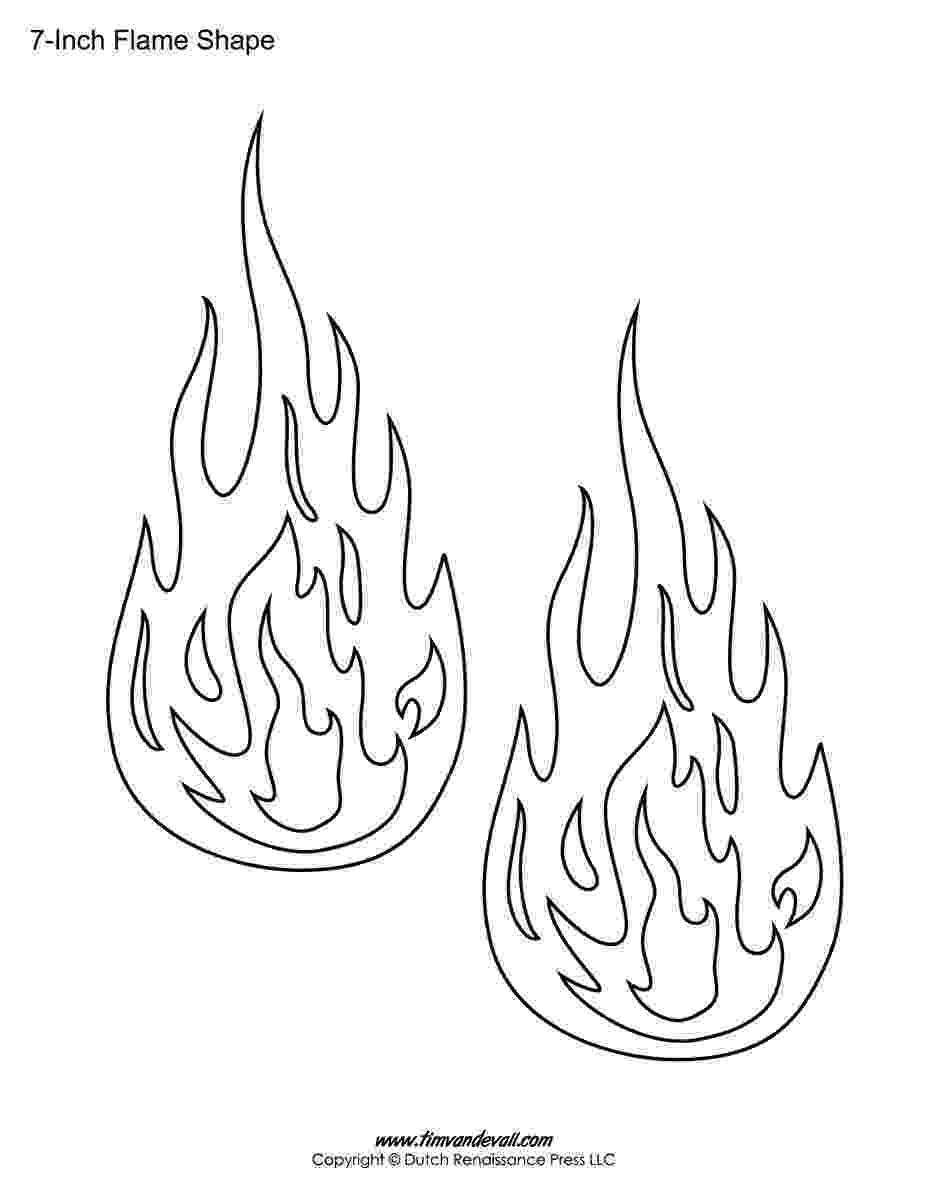 flames coloring pages flames outlines clip art at clkercom vector clip art pages flames coloring