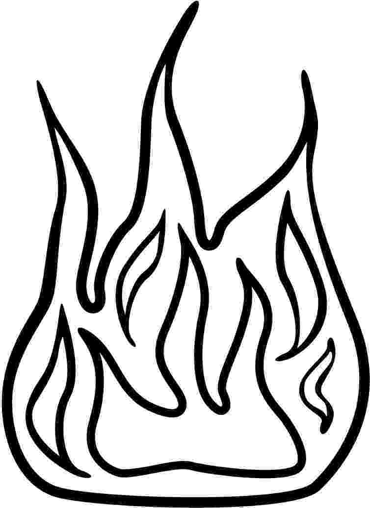 flames coloring pages printable fire flames clipart best pages coloring flames
