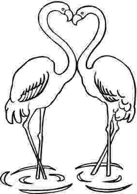 flamingo coloring sheet flamingos coloring pages to kids coloring flamingo sheet 1 1