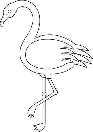 flamingo template simple giraffe outline print out and color pictures of a template flamingo