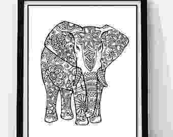 floral elephant coloring page 155 best images about elephant coloring pages for adults coloring elephant floral page