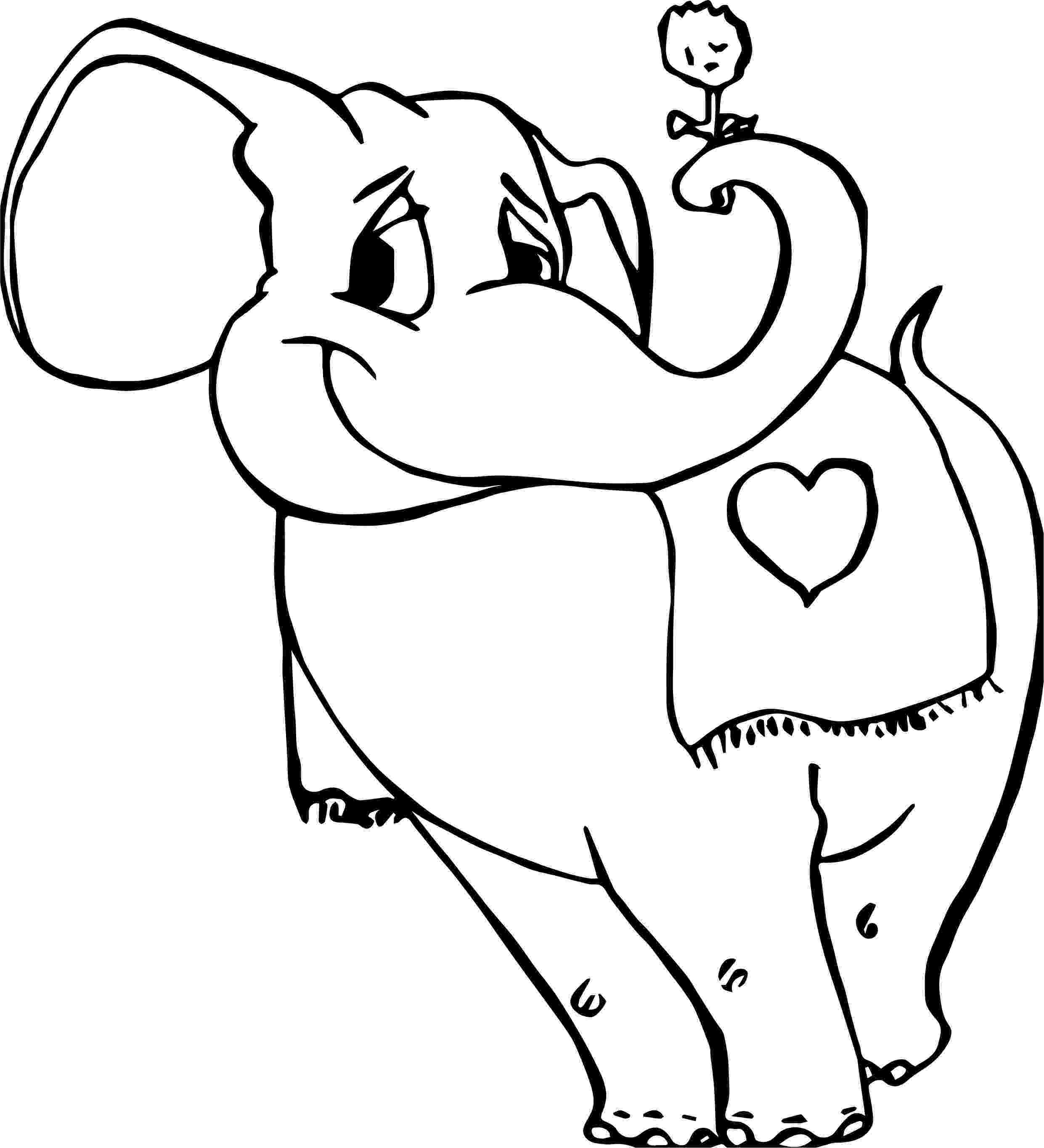 floral elephant coloring page old elephant flower coloring page wecoloringpagecom coloring elephant floral page