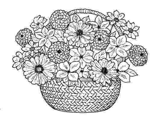 flower bouquet coloring pages picture of a bouquet of flowers clipartsco pages bouquet coloring flower