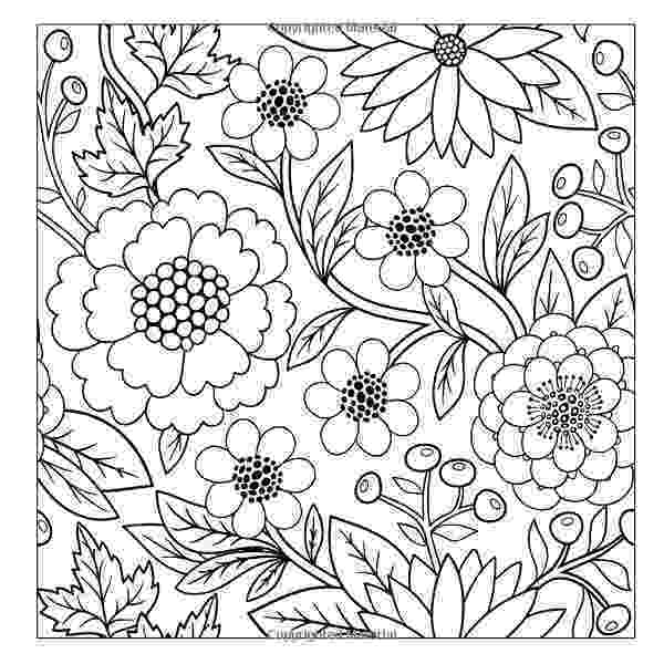 flower patterns coloring book amazoncom simple flower and vine designs easy designs coloring book flower patterns